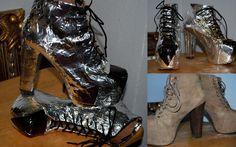 DIY shoe costume