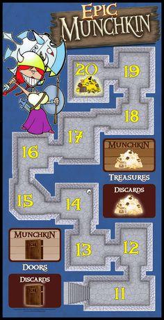 Epic Munchkin Game Board by firedude1994 on deviantART