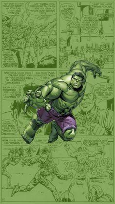The incredible hulk Marvel Avengers, Marvel Dc Comics, Marvel Heroes, Comic Books Art, Comic Art, Logo Superman, Hulk Party, Hulk Birthday, Hulk Comic