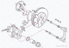 Exploded isometric diagram tutorial