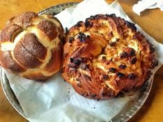 Cinnamon, apple, or just plain and simple regular challah: try all these variations using this basic challah dough using healthy coconut oil!