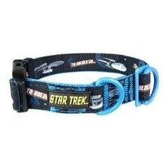 Star Trek Dog Collar Enterprise Large- Boldly go where no other dog has gone before