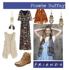 """Style Crush: Phoebe Buffay"" by simplybe ❤ liked on Polyvore"