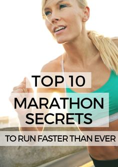 Running a successful marathon takes knowledge, planning and execution—and a little courage. When you train intelligently and develop and execute a solid race plan, you'll achieve your potential and run a great race that you can be proud of. Here are 10 strategies and tips for your next marathon. Top 10 Marathon Secrets to Run Faster Than Ever http://www.active.com/running/articles/top-10-marathon-secrets-to-run-faster-than-ever?cmp=23-243-2382