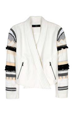 Tibi - Arty Thread Embroidered Jacket