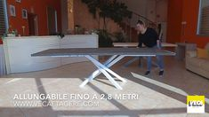 Tavolo Allungabile Fino A 6 Metri.294 Best Table Images In 2020 Furniture Furniture Design Table