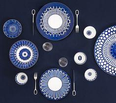 Bleus d'ailleurs en porcelaine - Maison | Hermès France
