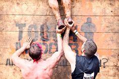 Tough Mudder Obstacle - Berlin Walls