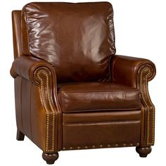 shop for hooker furniture sonata largo recliner and other living room chairs at babettes furniture in leesburg fl full recline length from wall to - Mission Style Recliner