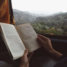 books and handsome male hands