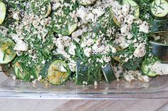 Rosted-Zucchini-with-Herbs-and-Feta-Cheese
