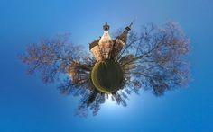 Panorama + distortion