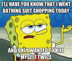 hate shopping for a bathing suit - Google Search