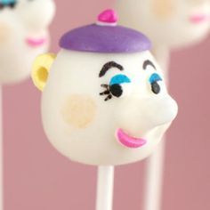 beauty and the beast party...#cake pops