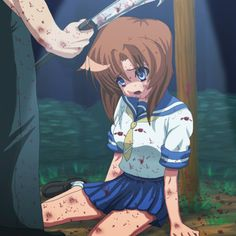 443 Best Higurashi Images In 2020 When They Cry Koro Anime