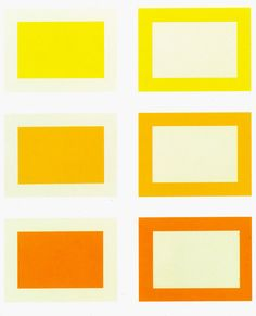 DONALD JUDD, Untitled (1989-90)  Suite of six woodcuts printed in cadmium yellow, yellow, and yellow deep