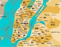 Paris versus New York: Et si on transposait la carte d'une ville à l'autre ?