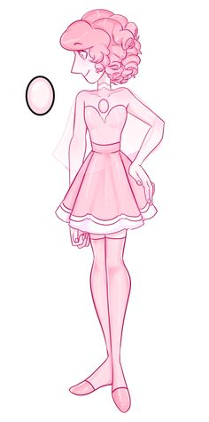 Pink Diamonds pearl