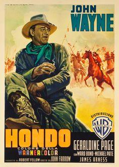 JOHN WAYNE - Hondo Poster