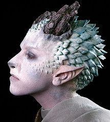 How cool is this! He may not feel so cool with a tree growing out of his head, but the special effects are amazing!