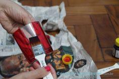 Pintando frascos