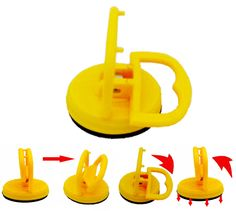 PuTwo Suction Cup Dent Puller Cars & Trucks Small Dent Auto Body Repair Glass Mover Lifter