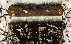 Espresso-pecan chocolate brownies recipe — The Telegraph Pecan Desserts, Just Desserts, Delicious Desserts, Yummy Food, Tasty, Brownie Recipes, Cake Recipes, Dessert Recipes, Brownie Ideas