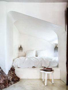 Una casa d'ispirazione etno-chic a Malaga