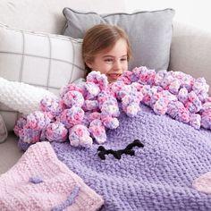 Bernat Crochet Unicorn Snuggle Sack