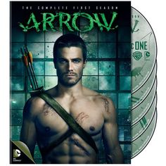 Arrow Season 1 ($1.99) ❤ liked on Polyvore featuring home, home decor, holiday decorations and arrow home decor