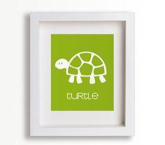 Turtle Nursery Art Print Kids Room Nursery Decor by NikoAndLily Turtle Baby Rooms, Turtle Nursery, Playroom Decor, Kids Decor, Nursery Wall Art, Nursery Decor, Golf Nursery, Turquoise Nursery, Childrens Wall Art