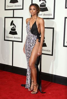 Les looks des Grammy Awards 2016 Style Couture, Couture Fashion, Monokini, Girl Celebrities, Celebs, Runway Fashion Outfits, Ciara Style, Bad Dresses, Shorty