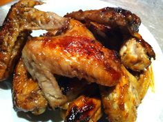 Honey Soy chicken wings! So cheap, so easy and so tasty! Can`t go wrong!