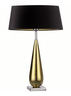 This tear drop lamp is diverse and would suit either a console table or bedside table whilst also achieving the desired high end appearance. Bello Tear Gold Table Lamp - Heathfield & Co