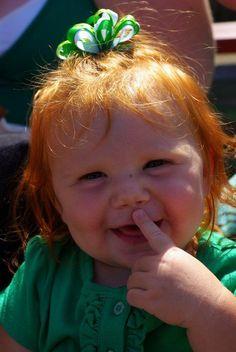 .♥ Rarest Hair Color, Celtic Baby Names, Rare Eye Colors, Step Kids, Step Children, Ginger Babies, Long Red Hair, Irish Girls, Redheads