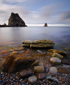 playa beach asturias exodos colorfull calm calma color rocas rocks coastline coast