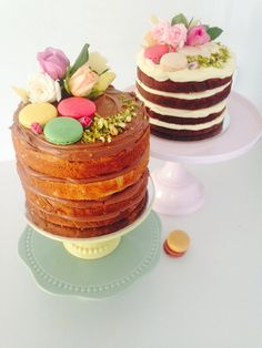Naked Cakes by #OldSchoolTeaLady