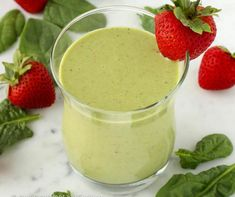 Banana Spinach Smoothie This easy recipe for a healthy Strawberry Banana Spinach Smoothie is fast, easy and delicious!This easy recipe for a healthy Strawberry Banana Spinach Smoothie is fast, easy and delicious! Juice Smoothie, Smoothie Drinks, Healthy Smoothies, Healthy Drinks, Green Smoothies, Strawberry Banana Spinach Smoothie, Spinach Smoothie Recipes, Strawberry Plants, Low Calorie Peanut Butter