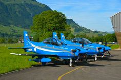 Pilatus PC-21 trainers for Saudi Arabia. After initial training pilots move on to the Bae Hawk AJT (Advanced Jet Trainer).