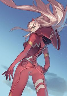 Zero Two (Darling in the FranXX) (942x1333 934 kB.)