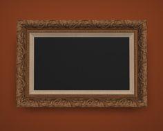 Standard Mouldings around flat screen