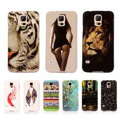 For Samsung Galaxy S5 Case Pattern Silicone Phone Cases For Samsung Galaxy S5 SV I9600 G900F G900I Cover TPU Soft Plastic Cases #Affiliate