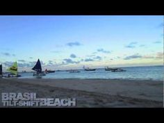 Brasil tilt-shift Beach