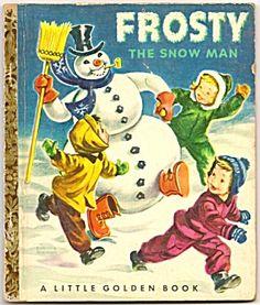 FROSTY THE SNOWMAN - Little Golden Book