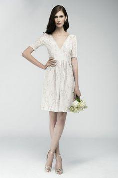 Wishesbridal Sheath Column Bridal Wedding Dress