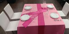 Breast Cancer Awareness table