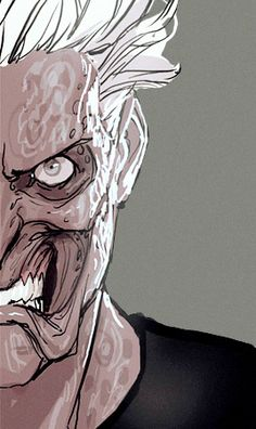 Harvey Dent/Two-Face in Harleen #3