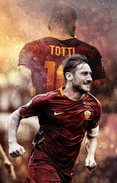 Francesco Totti For mobile - Live Wallpapers Good Soccer Players, Best Football Players, Football Art, Kobe Bryant, Michael Jordan, Totti Francesco, Totti Roma, Juergen Klopp, Nba