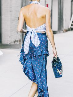 The Fresh Print That's Getting Fashion People Talking via @WhoWhatWear