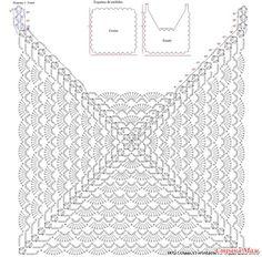 Captivating Crochet a Bodycon Dress Top Ideas. Dazzling Crochet a Bodycon Dress Top Ideas. Crochet Pillow Pattern, Crochet Diagram, Crochet Chart, Filet Crochet, Crochet Motif, Crochet Stitches, Crochet Hooks, Crochet Patterns, Crochet Squares